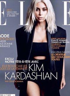 Kim Kardashian: Ihr letztes Shooting mit platinblonden Haaren!