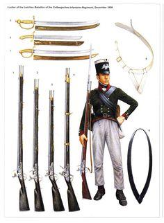 soldatini uniformi e storia militare: Prussian Regular Infantryman