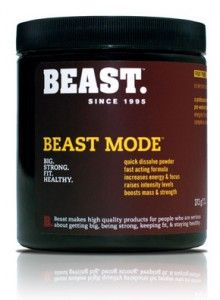 Beast Mode pre-workout supplement review. The good. The bad. The ugly.