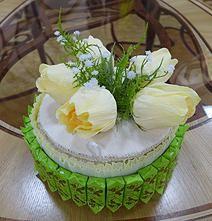 Оригинальные композиции, букеты и торты из конфет