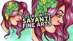 My First Collab!  Watercolor Painting & Collaboration with Sayanti Fine Arts https://youtu.be/6CKhCPWd5C8  My first collaboration! Thank you so much to Sayanti Fine Arts for inviting me to collab with her. In our videos well be painting the same sketch in our own very different styles.  Sayantis video  https://www.youtube.com/watch?v=DI8121_mIGU Download the traceable!  https://ift.tt/2rSNGpf Sayanti Fine Arts  https://www.youtube.com/channel/UC1DpG86LYOQWk5iAmF70Qtg  SUPPLIES: Canson XL…