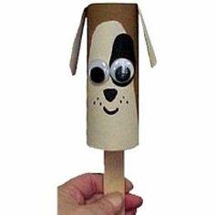 no.5 dog toilet roll craft