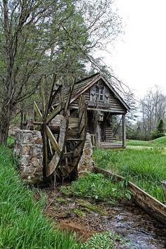 Derelict Water Wheel | Mills | Pinterest
