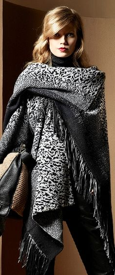 Escada Scarf F/W 2013| The House of Beccaria#