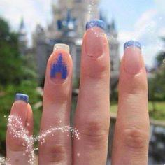 Cinderella (Nails by Unknown) #Cinderella