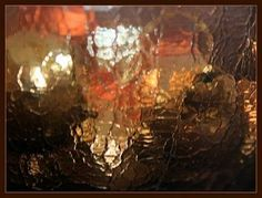 How to make crackle glass effect.