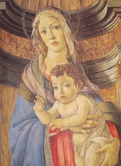 "Sandro Botticelli ""Madonna della melagrana"""