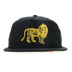 Marley Coffee Lion Shallow Fitted #Black #Bob #Bob-Marley