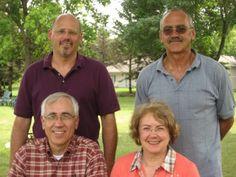 Ballard Siblings - Summer 2009  (at bottom) Larry Ballard, Kathy Lentz, (at top) Dave Ballard and Kenneth Ballard.