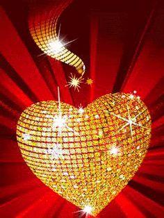 kisses for you gif Coeur Gif, Beau Gif, Animated Heart, Animated Gif, Love You Gif, I Love Heart, Beautiful Gif, Love Wallpaper, Gold Sparkle