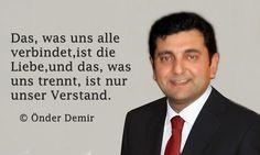 Gedichte und Liedtexte von Önder Demir: Was uns alle verbindet!