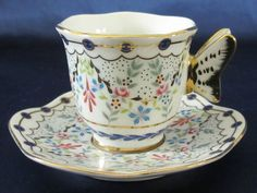 Butterfly teacup