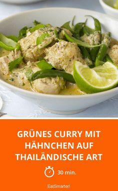 Grünes Curry mit Hähnchen auf thailändische Art - smarter - Zeit: 30 Min. | eatsmarter.de