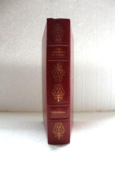 vintage red book decorative vintage homedecor by SeaZephyr on Etsy, $9.00