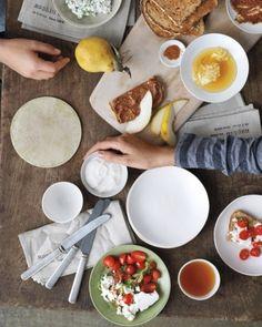 Snacking Satisfaction: mini meals! Yum.