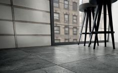 Solid Concrete - A hyper-realistic imitation of urban concrete, Concrete strikes a mood part contemporary and part time-worn.