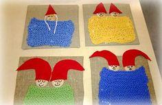 Nelosten ekat neulomukset