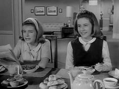 THE PATTY DUKE SHOW (1963-1966, ABC; theme by Sid Ramin and Robert Wells). The Miracle Worker had proven the acting skills of young Patty Duke; in this TV star vehicle she pulled off dual roles and accents with aplomb. This razzmatazz sung theme with full blaring orchestra and ad jingle epic choral harmonies is one of the best of its type. (KevinR@Ky)