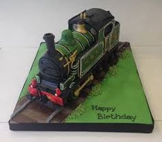 Image result for steam train cake