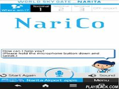Narita Concierge NariCo  Android App - playslack.com , ▽ A World Airport First!Narita Airport voice agent app.▽ Just speak into your smartphone and NariCo will tell you everything about Narita Airport!This app was developed with the full support of NTT DOCOMO Inc., by modifying its Shabette-Concier service specifically for the needs of customers using Narita Airport.Just speak into your smartphone to make your stay at Narita Airport more convenient, comfortable and enjoyable.When using…