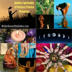 Goddess Spirituality and Priestess Practice Resources