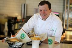 Chef / Owner Paul Wahlberg of Wahlburgers.