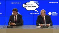 Renzi a San Pietroburgo, smorfie e cellulare all'incontro con Putin – VIDEO http://whattanews.altervista.org/renzi-a-san-pietroburgo-smorfie-e-cellulare-allincontro-con-putin-video/