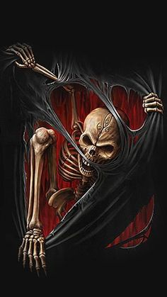 this would make a cool tattoo; different colors on the outside, though, like skin being torn...Death Rip ~ Spiral Direct