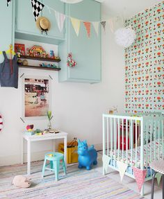 the boo and the boy: eclectic rooms