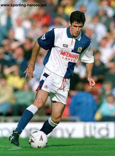 Mike Newell of Blackburn Rovers in Mike Newell, Blackburn Rovers, Soccer Players, Burns, Champion, Football, Memories, Baseball Cards, Running