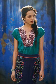 anthropologie...love the skirt