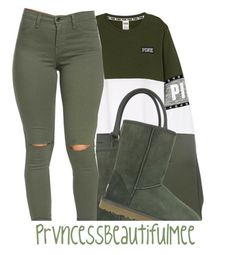 """"""""""" by prvncessbeautifulmee ❤ liked on Polyvore featuring Prada and UGG Australia"""