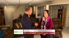 Better Built Basements: Maureen Testimonial How would you like to take your basement from unfinished to unbelievable? Hear what home owners like Maureen have to say about Better Built Basements! http:/www.betterbuiltbasements.com