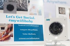 WiFi Baby 4- WHITE. Get social with us! Use #mywifibaby