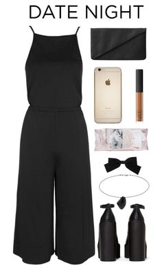 """""""take me on a date"""" by deandelaina on Polyvore featuring Topshop, Monki, Josie Maran, NARS Cosmetics, Yves Saint Laurent and Jeffrey Campbell"""