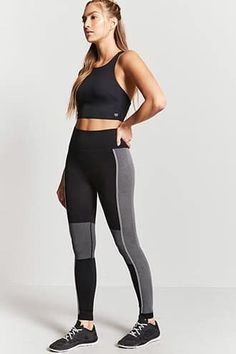 7e9dad1dbdaa70 Leggings for Women | Mesh, Paneled, Faux Leather | Forever21 F21, Active  Wear