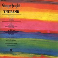 The Band - Stage Fright (1970)