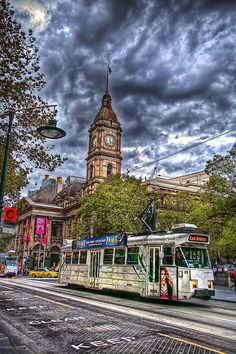 Central Melbourne, during the Comedy Festival. Produced using a single RAW file. Melbourne Tram, Melbourne Australia, Vic Australia, Melbourne Victoria, Victoria Australia, Australia Living, Australia Travel, Travel Around The World, Around The Worlds