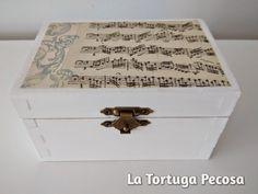 LA TORTUGA PECOSA: CAJITA NOTA MUSICAL