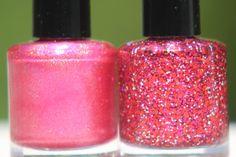 Theres No Place Like Home Duo handmade custom nail polish via Etsy