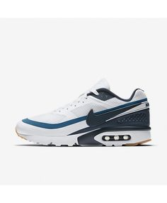 quality design 91691 be1bc Chaussure Nike Air Max Bw Ultra Blanc Bleu Industriel Jaune Gomme Marine  Arsenal