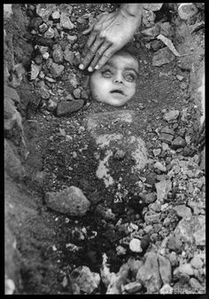 The Bhopal disaster (12/2/1984) has no parallel in human history. Burial of an unknown child has become the icon of the world's worst industrial disaster, caused by the US multinational chemical company, Union Carbide.