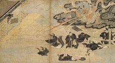 Illustrated Legends of the Kitano Shrine (Kitano Tenjin Engi), Kamakura period (1185–1333), 13th century Unidentified artist
