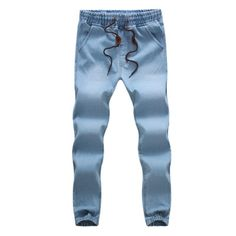 Special offer New 2017 Mens trousers Casual Length Straight Loose Fit Harlan Pants cowboy feet M-5XL Male Denim Jeans just only $16.70 with free shipping worldwide  #jeansformen Plese click on picture to see our special price for you
