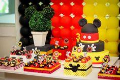 Bruno 3 anos - Decoração Mickey