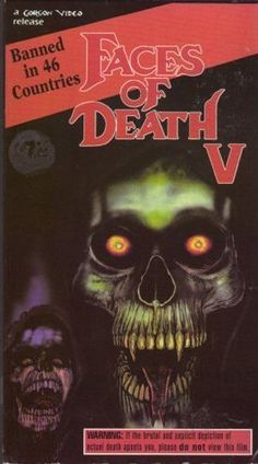 faces of death vhs art - Google Search