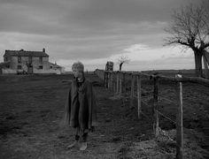 """Giulietta Masina in """"La Strada"""" (1954, Federico Fellini) / Cinematography by Otello Martelli, Carlo Carlini (uncredited)"""