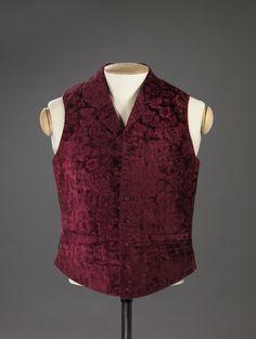 Waistcoat 1840-1860