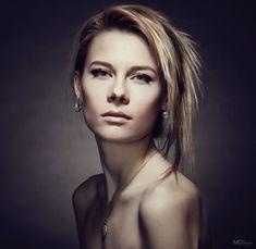 woman, studio, portrait,