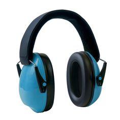 Edz Kidz Ear Defenders Blue Light Sturdy Earmuffs Foldable Kids Noise Protect UK
